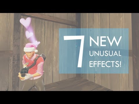 Team Fortress 2: 19/6/2013 - All 7 New UNUSUAL EFFECTS! Crate 59 ...