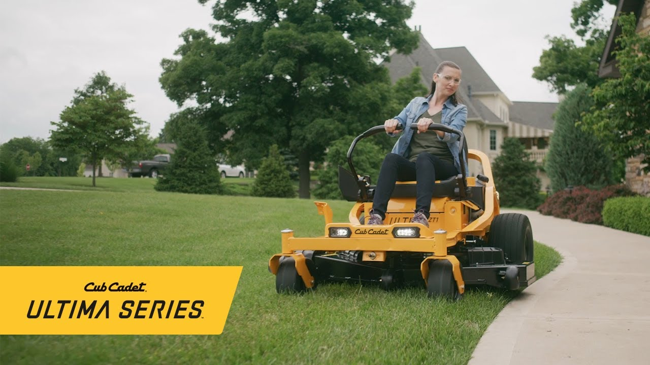 The Ultimate All-Around Mowing Experience | Cub Cadet Ultima Series  Zero-Turn Riding Mower