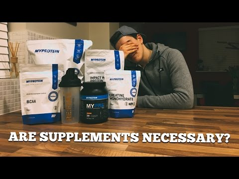 FACT or FICTION - 'Supplements Aren't Necessary For Developing Your Dream Physique'