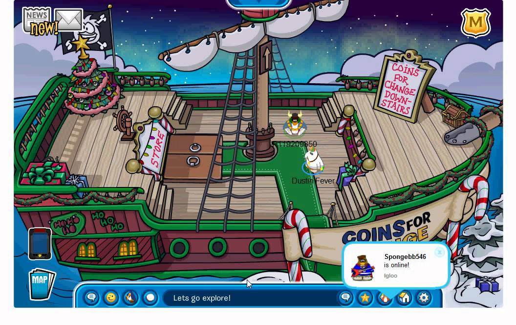 how to meet rockhopper on cp