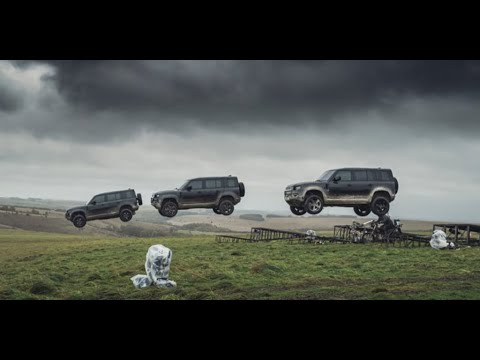 Land Rover Defender performs incredible stunts in new Bond movie No Time To Die