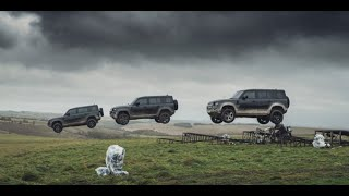 The New Land Rover DEFENDER - Unstoppable
