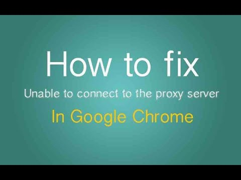 Fix Proxy Server Error in Google Chrome for Free Windows XP/7/8/8.1 | April 2015 (New+Official)