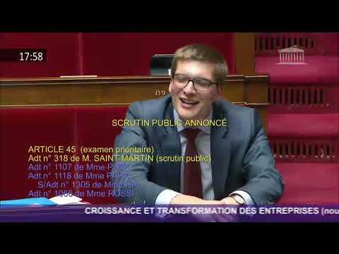 Intervention de Bruno Le Maire sur l'amendement n°318 de Laurent Saint-Martin