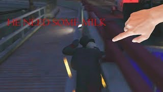 GTA V Funny Moments- THE UNLUCKIEST MAN IN THE WORLD! NITOS AND THE BALL TALK