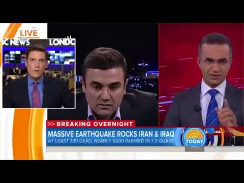 Earthquakes leaves hundreds dead in Iran, Iraq