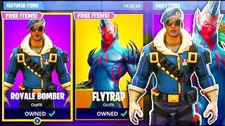 "*NEW* ""Royale Bomber + Flytrap"" COMING TO Fortnite Battle Royale - NEW SKIN UPDATE"