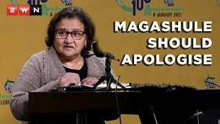 Deputy secretary-general of the ANC, Jessie Duarte, said that the NEC meeting that took place over the weekend resolved that suspended secretary-general, Ace Magashule, should issue an apology to the ANC and the country. This after Magashule sent a letter of suspension to President Cyril Ramaphosa in retaliation for his own suspension.