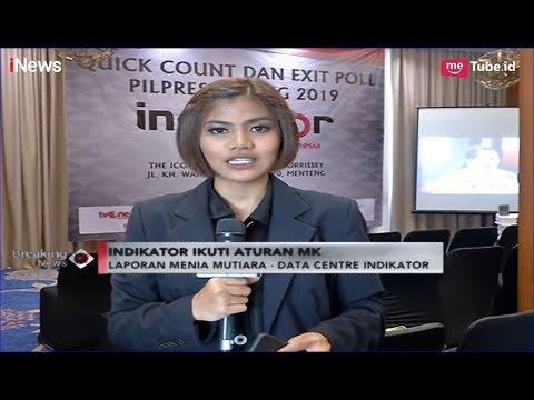 Persiapan Quick Count & Exit Poll Lebaga Survei Indikator Politik Indonesia - Breaking iNews 17/04