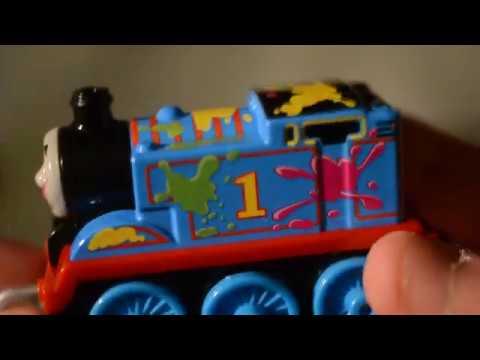 Salty Thomas /& Friends Trackmaster Push Along Engine
