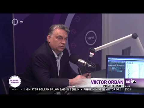 Orban: Only Mafia In Hungary Is George Soros
