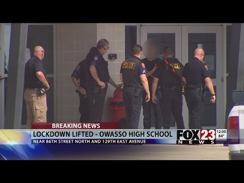 VIDEO: Teen arrested after lockdown at Owasso High School