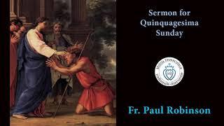 Quinquagesima Sunday 2020