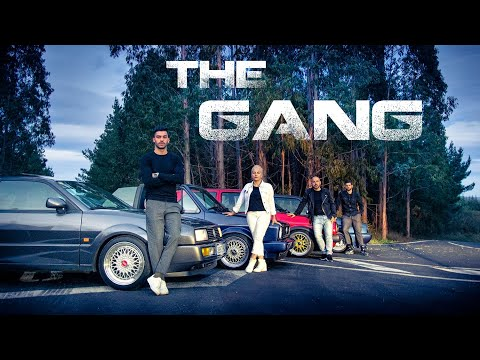 The Gang - Shortfilm [VW Corrado G60, Golf Rallye, Golf Gti Mk2 16v, Golf Mk1 Cabrio]