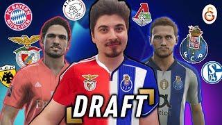 PES 2019 DRAFT!! - GRUPO DO BENFICA vs. GRUPO DO PORTO