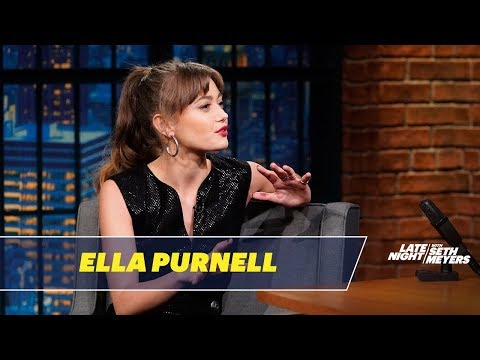 Ella Purnell Got Her Mom Addicted to Tattoos