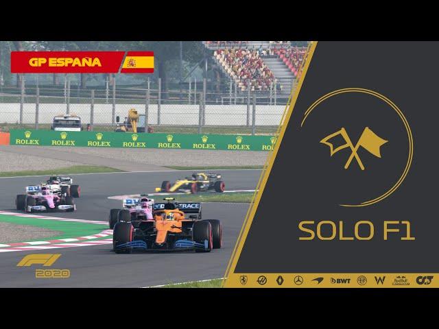 CARRERA COMPLETA - CAMPEONATO SOLOF1 T4 GP ESPAÑA #6