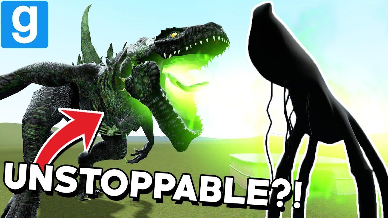RADIOACTIVE GODZILLA vs DAY 17... and MORE?! (Garry's Mod Sandbox) thumbnail