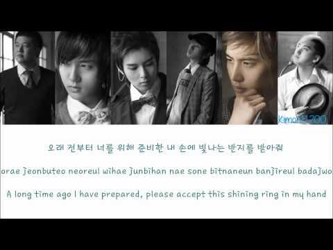 Super Junior - Marry U [Hangul/Romanization/English] Color & Picture Coded HD