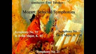 Wolfgang Amadeus Mozart: Symphony No. 15 in G Major, K. 124: 2. Andante