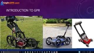 GPR (Ground Penetrating Radar) for Utility Locating Webinar Replay