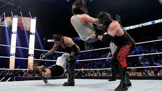the brothers of destruction vs Bray wyatt and Luke harper : Survivor Series 2015 (full match)