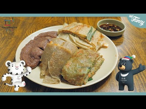 Gangwon-do Korea Market Food: Pyeongchang Olympic Market