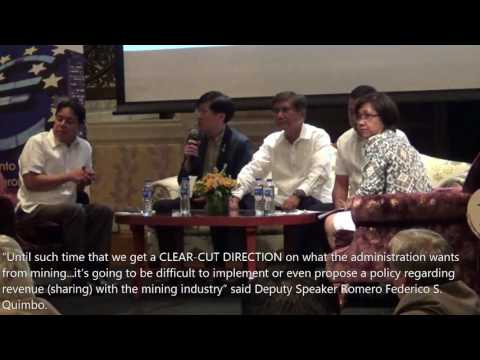 DENR Team gets grilled on Philippine Mining Taxes