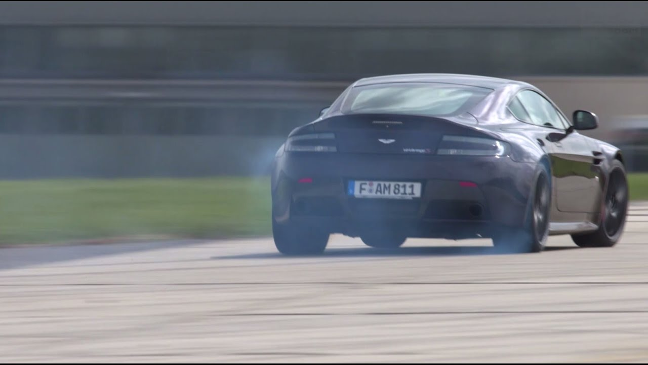 aston martin v12 vantage s: englischer hooligan - fast lap | auto