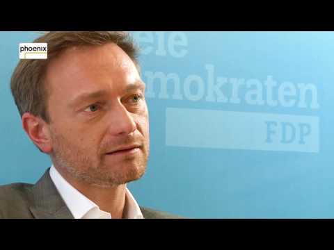 Interview mit Christian Lindner, FDP-Spitzenkandidat für NRW