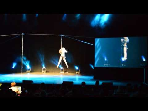 Olga Biserova Pole Art Estonia Final 2016