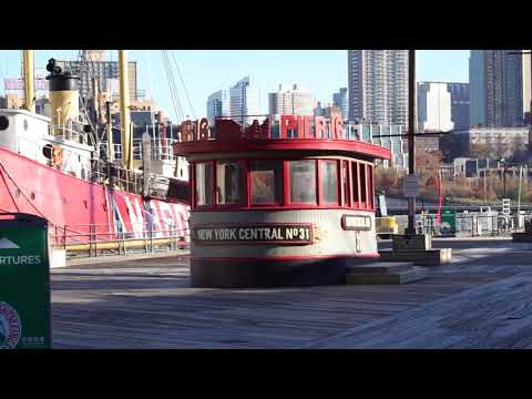 Historic Boats in the South Street Seaport