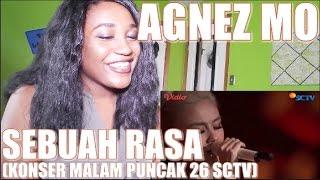 Agnez Mo - Sebuah Rasa (Konser Malam Puncak 26 SCTV) | REACTION [QUEEN OF BALLADS!]