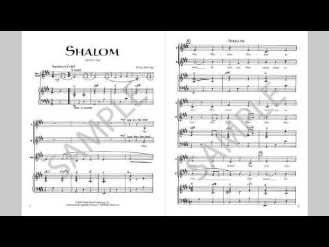 Shalom - MusicK8.com Singles Reproducible Kit