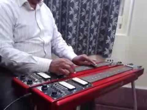 ye sama sama hai played on hawaiian electric guitar by biswajit sarkar youtube. Black Bedroom Furniture Sets. Home Design Ideas