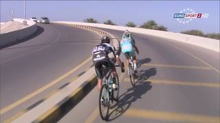 Epic Battle ! Peter Sagan, Vincenzo Nibali, Rigoberto Uran Epic Breakaway Finish