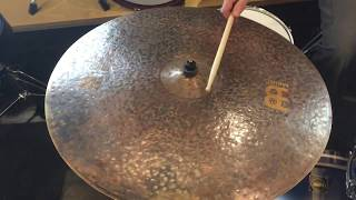 "Meinl R&D Byzance 26"" Big Apple Dark Ride Cymbal"