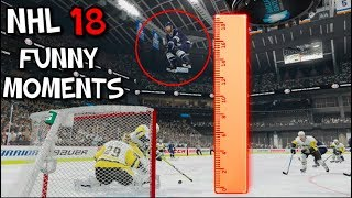 NHL 18 FUNNY MOMENTS!