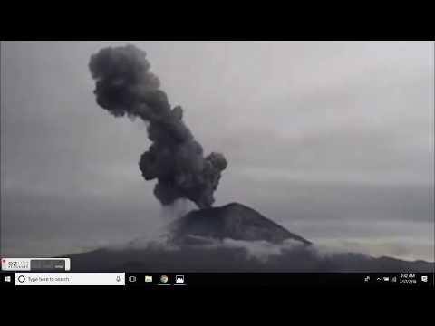 GSM Update 2/17/18 - Coronal Hole Stream+Earthquake+Volcano - OTF2018 - Records Tumble