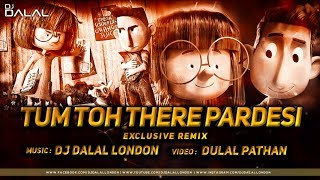 Tum To Thehre Pardesi Anthem | Club Remix | Dj Dalal London | Altaf Raja | Romantic Hits