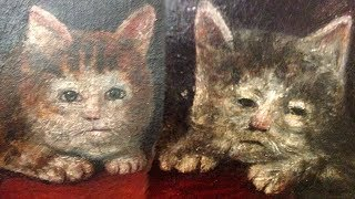 Cursed Medieval Cat Paintings