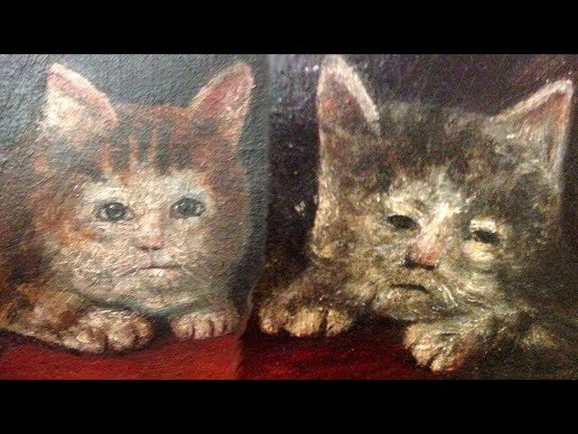 Cursed Medieval Cat Paintings
