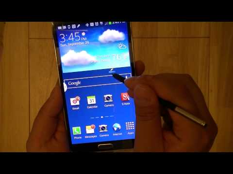 Samsung Galaxy Note 3 Review: Multitasking