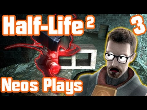 Manhack Attack! Half-Life 2 (Blind Playthrough) Part 3 | Neo