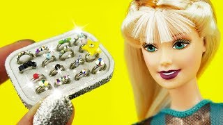 DIY Rings, Bracelets, Jewelry and MORE Bijouterie For BARBIE And LOL DOLLS | CRAFTS and HACKS