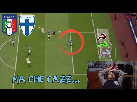 MAMMAMIA BONUCCI... | Pronostico Gameplay ITALIA-FINLANDIA | (Fifa 19)