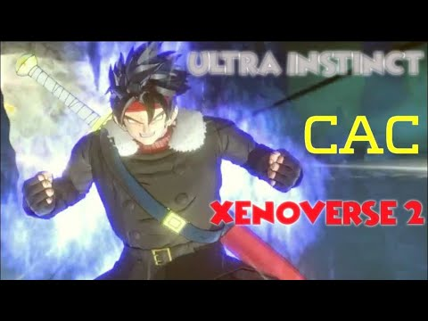 Xenoverse 2 Mod - Ultra Instinct CAC With Tutorial