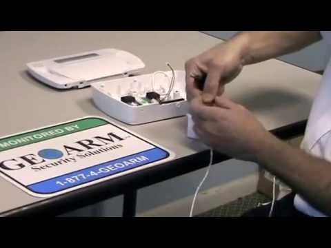 how to wire a dsc impassa security system
