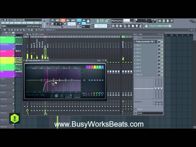 FL Studio 12 Trap Beat Tutorial | Part 5 Mixing