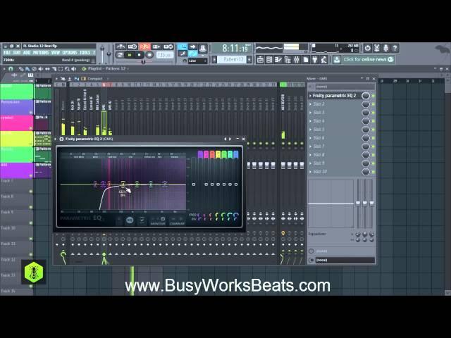 FL Studio 12 Trap Beat Tutorial   Part 5 Mixing
